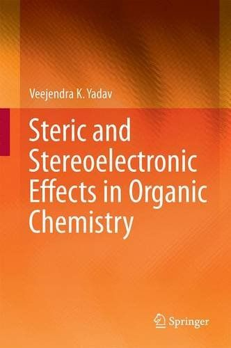 "The book ""Steric and Stereoelectronic Effects in Organic Chemistry"" attempts to address several important issues related to these concepts in a simplified manner, and is intended for graduate students. It lays stress on the important aspects of steric and stereoelectronic effects and their control on the conformational profile and reactivity features."