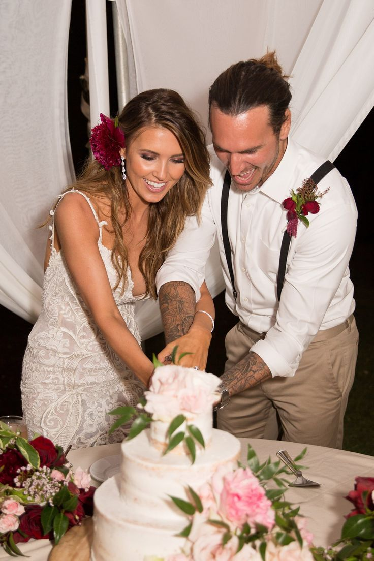 See Photos From Audrina Patridge and Corey Bohan's Romantic Hawaiian Wedding