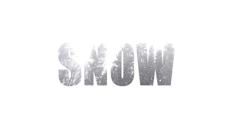 cinemagraph snow