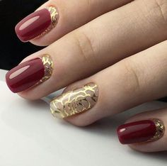 Фото узор на ногтях