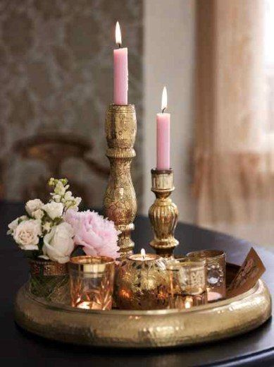 pink and gold <3