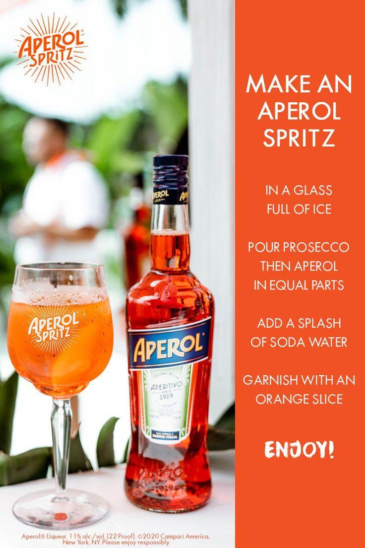 Aperol Spritz Cocktail In 2020 Aperol Spritz Recipe Spritz Recipe Aperol Spritz