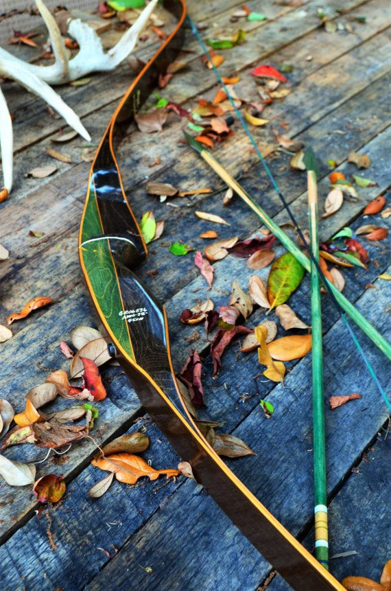 Archery BowVintage Bear Grizzly 45 recurve bow RH by PodunkHollow