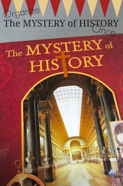 How to Organize Mystery of History Once and For All {FREE printables}