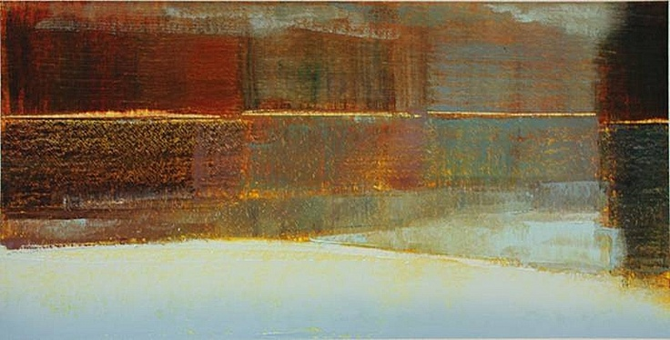 Stephen Pentak, 2011, 4.4 2011, Oil on paper, paper size 22 x 30 inches