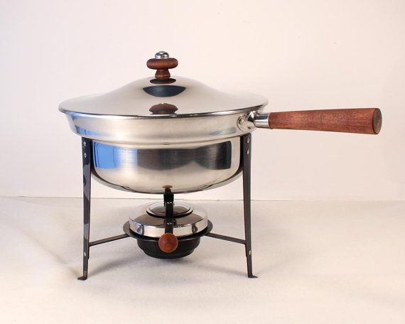 Vintage Chafing Dish MidCentury Silver Plated by morebrightideas, $40.00