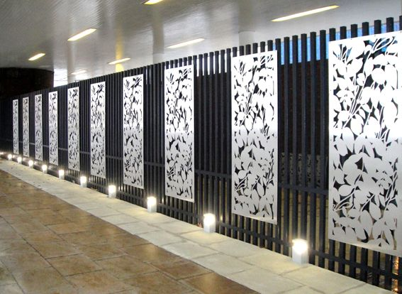 Laser Cut Walls Office : Portfolio of our latest laser cut projects grace webb