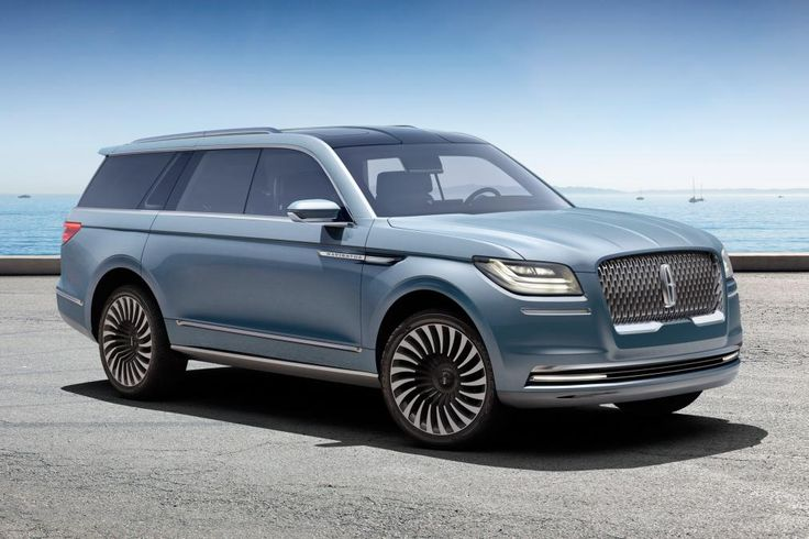 Lincoln Navigator concept at the 2016 New York show | 1 | Auto Express