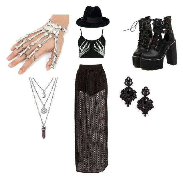 """Evelyn G"" by elmiller95 on Polyvore featuring Boohoo, Gucci, WithChic and Tasha"
