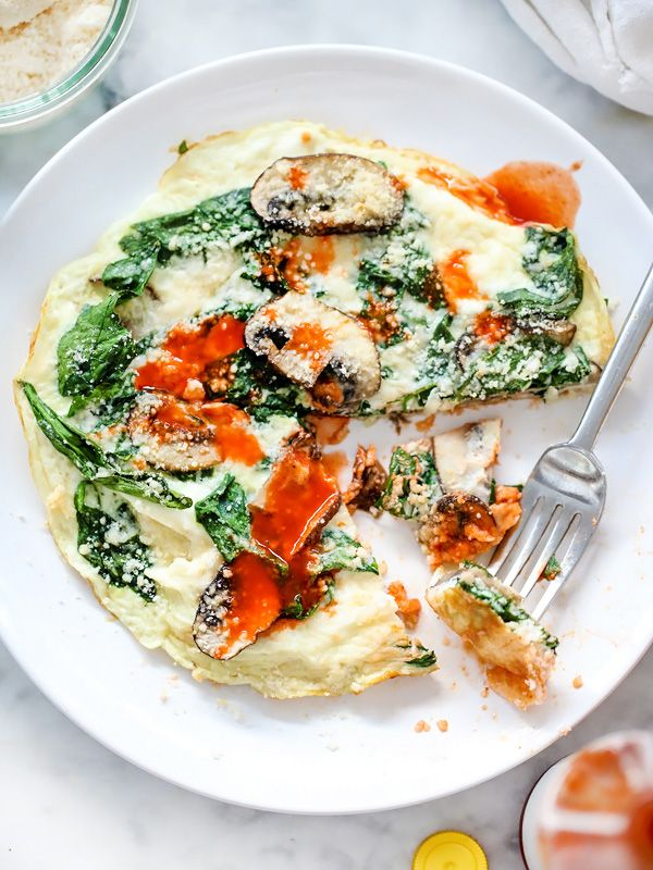 Spinach and Mushroom Egg White Frittata Recipe on Yummly. @yummly #recipe