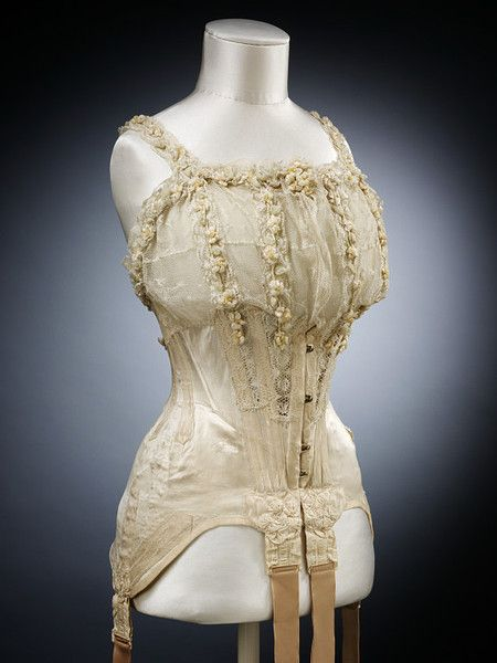 30 best early 20th century corsets images on pinterest for Corset bra for wedding dress