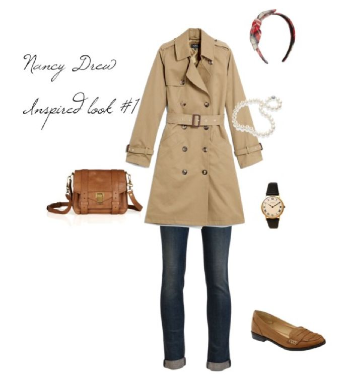 Significantly Styled: Style Inspiration from Nancy Drew