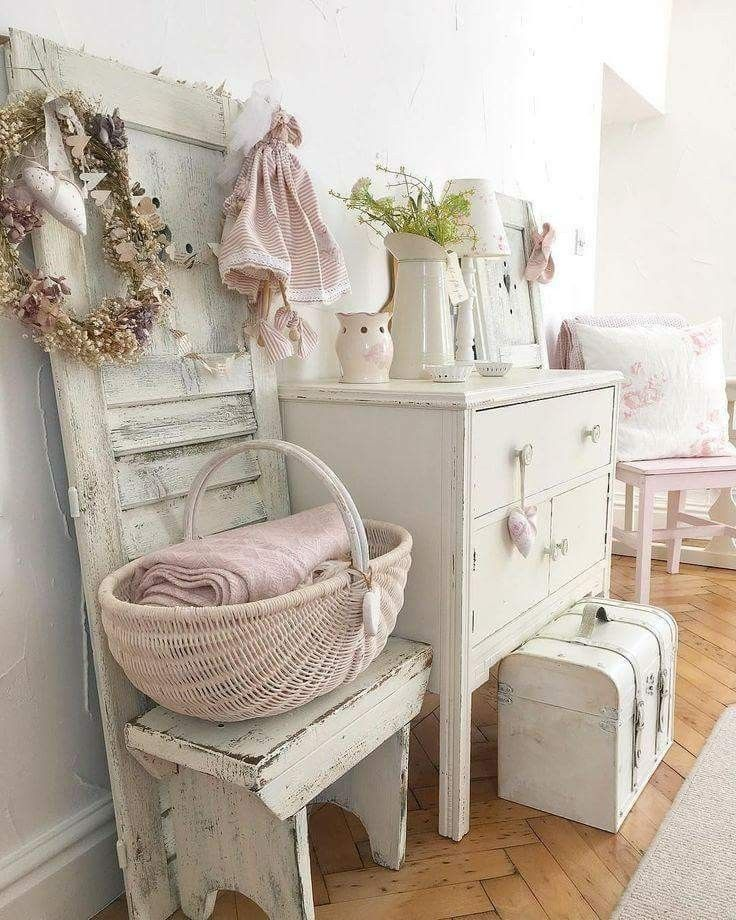 die besten 25 shabby chic deko ideen auf pinterest. Black Bedroom Furniture Sets. Home Design Ideas