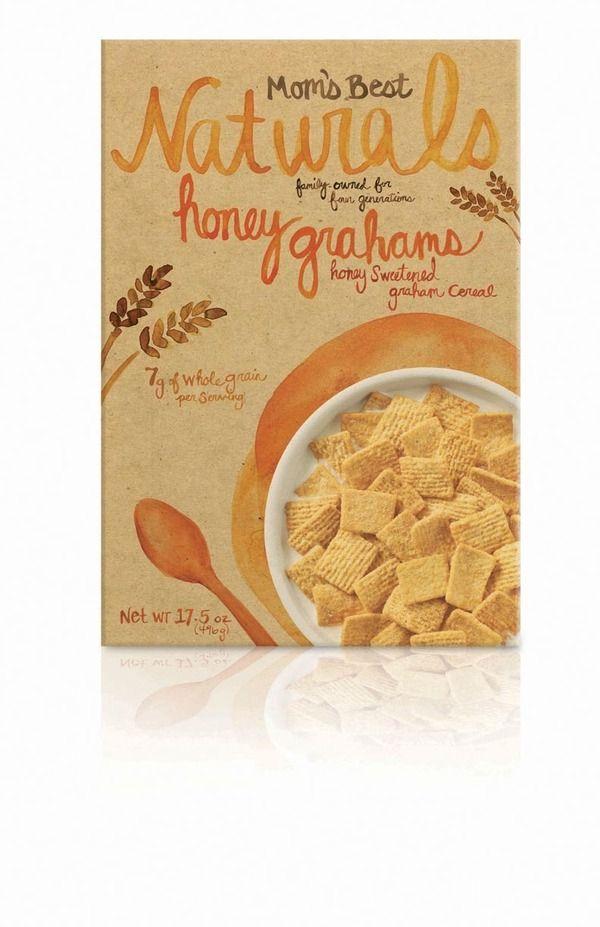 mom' best cereal {packaging} by carisa flaherty, via Behance