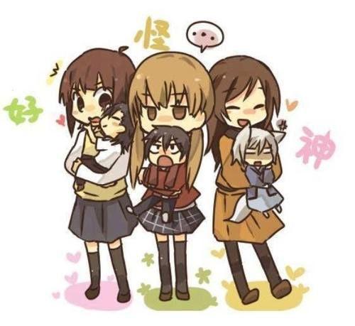 kamisama hajimemashita, Tonari no kaibutsu-kun, Say i love you (suki-tte ii na yo) essa foto é tão fofinha