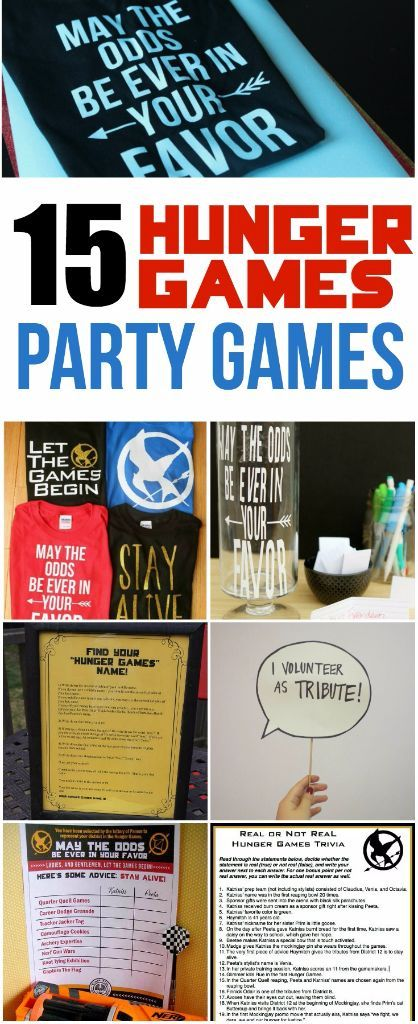 Like to pretend you're Jennifer Lawrence or test how well you can guess who said what quotes from Hunger Games? Celebrate the release of Hunger Games Mockingjay Part 2 with these awesome Hunger Games party activities and party games. Everything from DIY crafts you can do as a group to Hunger Games quotes you can print out and decorate. And how amazing is that first idea?