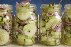How To Make Icebox Pickles ~ cooking Of all time