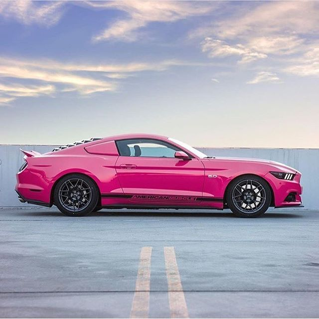 Pink mustang hot hot hot .... XBrosApparel Vintage Motor T-shirts, American muscle car, Horespower, Great price