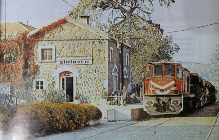 Şirinyer Tren İstasyonu, Buca. 1990'ların başı.
