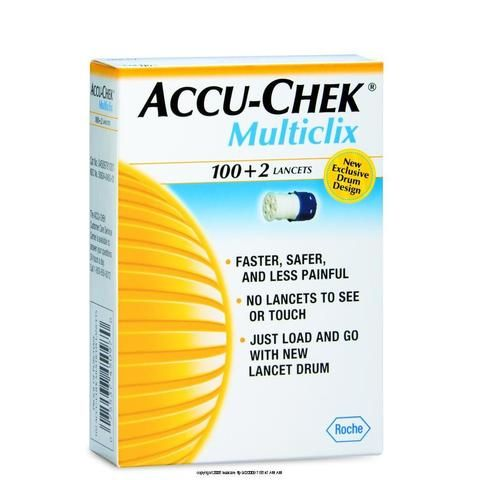 Accu-Chek Multiclix 102 lancets | Total Diabetes Supply