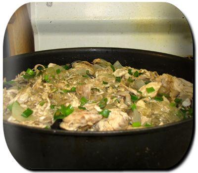 http://ediescookbook.wordpress.com/2011/06/14/chicken-long-rice/  CHICKEN LONG RICE
