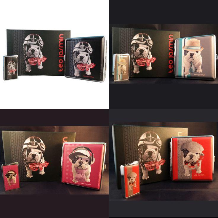 Teo Jasmin Geschenkbox Geschenkset mit Gas Feuerzeug und Zigarettenetui  NEU http://www.ebay.de/itm/161484470216