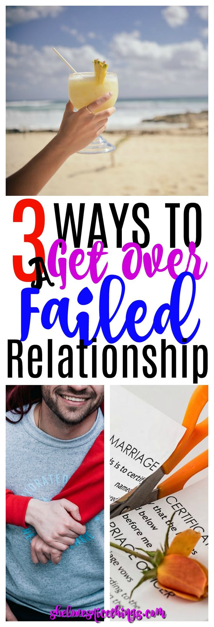 We've all been there; How to Quickly Get Over a Failed #Relationship