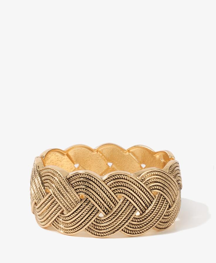 Braided Antiqued Bracelet: Braids Chains, Antiques Bracelets, Antiqued Bracelets, Chains Bracelets, Braids Antiques, Braids Lov, Braided Antiqued, Braids Bracelets, 21 Braids