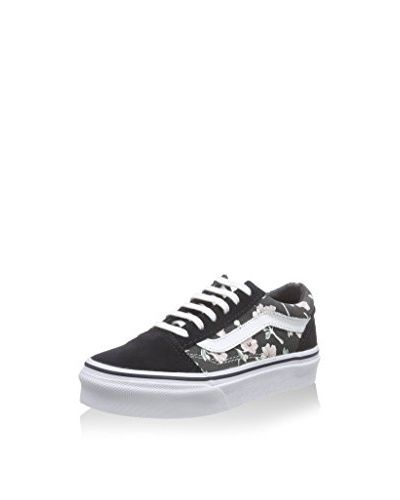 Vans Sneaker K Old Skool schwarz/wei脽/rosa EU 29 (US 12)