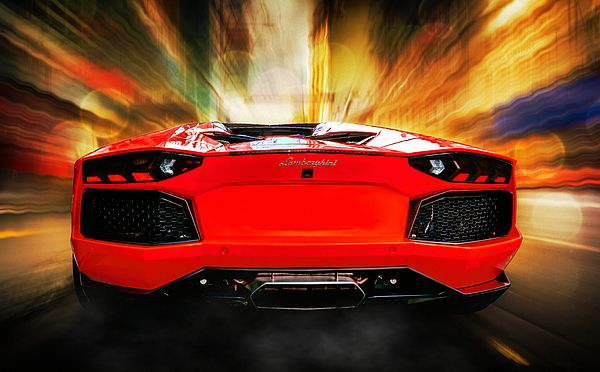 Back in Red.  Lamborghini Aventador LP700-4. Queen Street. Auckland, New Zealand.  View my portfolio at www.zarirmadon.com