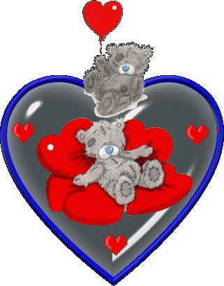 TATTY TEDDY BEAR HEART GIF