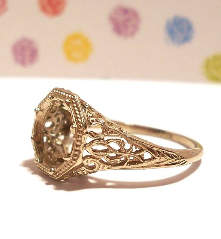 antique ring reproduction stunning