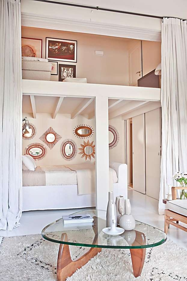 La camera da letto sul soppalco | Leonardo.tv