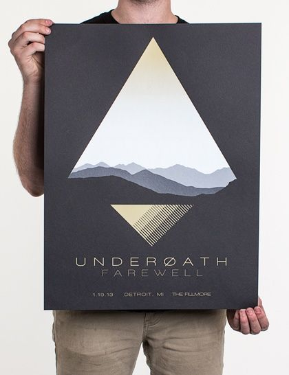 Graphic design inspiration | From up North; theme promotion idea; incorporation of people and photos, v