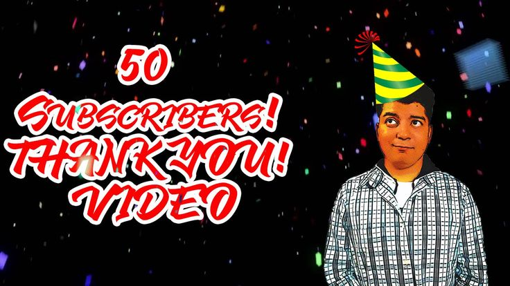 50 Subscribers! You Guys are Wond3rfully Awesome!