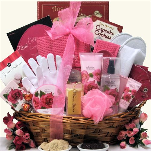 Mothers Day Spa Gift Baskets - Spa Heaven Mother's Day Bath & Body Spa Gift Basket at Gift Baskets Etc