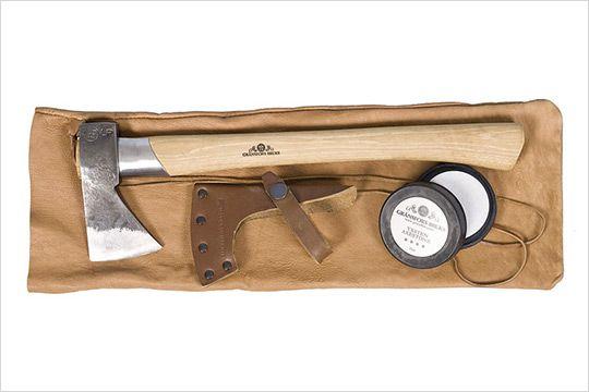 Gransfors Bruks Wildlife Hatchet Review  http://www.swingingsteel.com/gransfors-bruks-wildlife-hatchet-review/