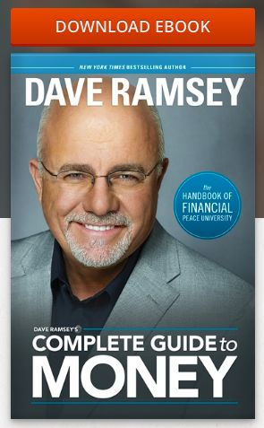 Download a copy of the Complete Guide to Money by Dave Ramsey for FREE on Noisetrade (Plus 2 chapters of his new book Smart Money, Smart Kids)!