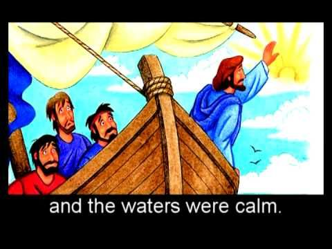 Jesus Calms the Storm - YouTube                                                                                                                                                      More