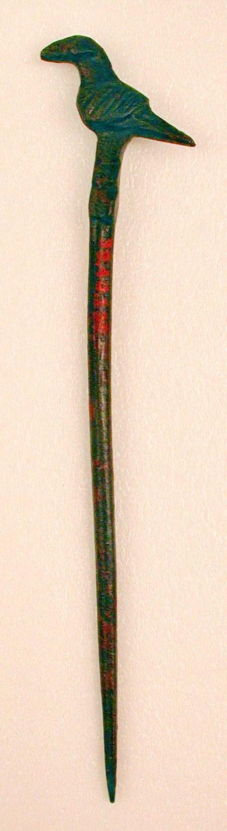 Pin Date: 9th–10th century Iran, Nishapur (9.7 cm) - The Metropolitan Museum of Art.