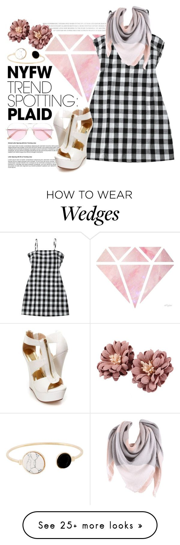 """""""NYFW: Plaid"""" by isis-anubis5 on Polyvore featuring Oliver ..."""