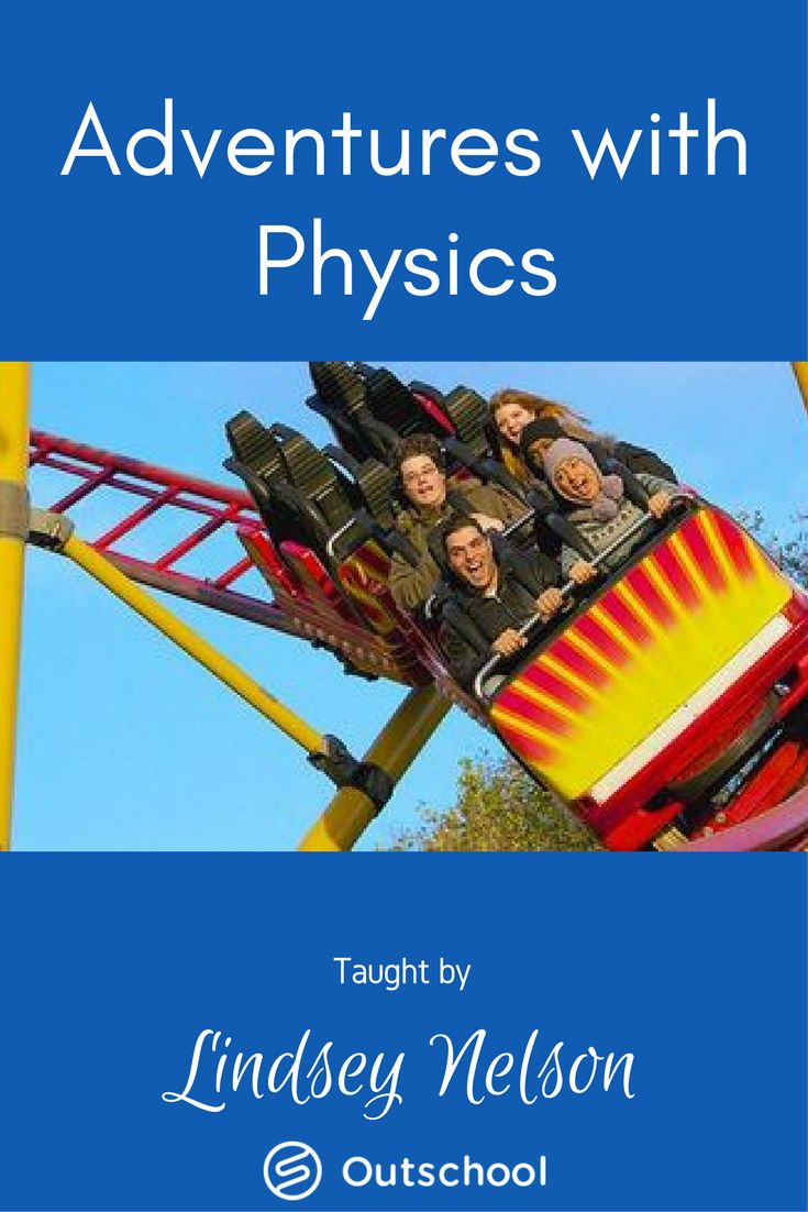 Are you eager to advance your understanding of how things work? It's time for an adventure with physics. This class contains all of the essentials for a high school physics course including hands-on lab activities. #highschoolscience #highschoolphysics #homeschoolphysics #homeschoolphysics #homeschoolscience #homeschooling #unschooling #outschool #elearning