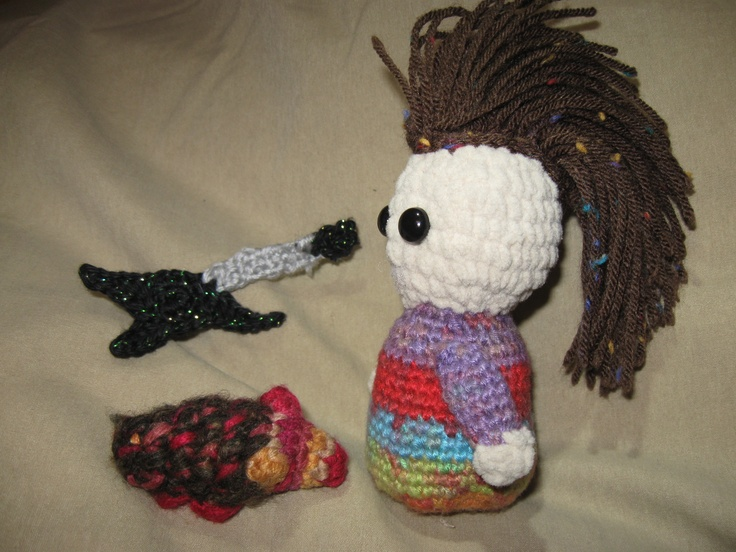 Amigurumi Rocker with Guitar Things Ive Made ...