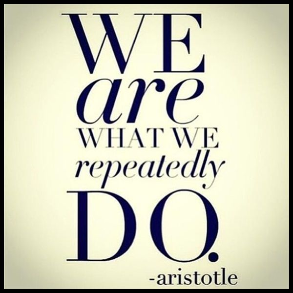Oh boy, is this true. We also are what we repeatedly eat :) I am currently tortilla chips and sesame butter.