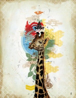 Fantastic Artist  ::  Who doesn't like art with giraffes in it?