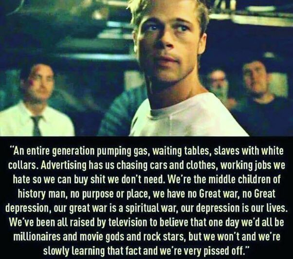 15 Laughable Memes For You Best Quotes Ever Good Life Quotes Fight Club Quotes
