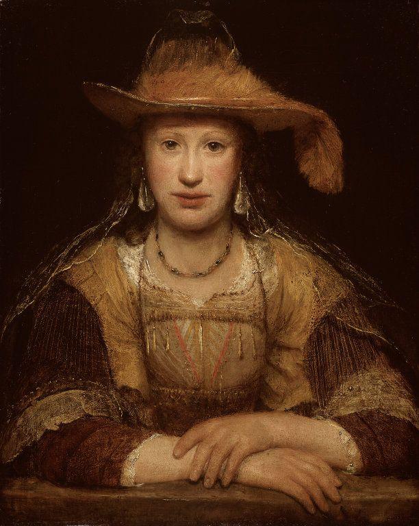 Aert de Gelder, Portrait of a Young Woman, 1690. Oil on canvas.