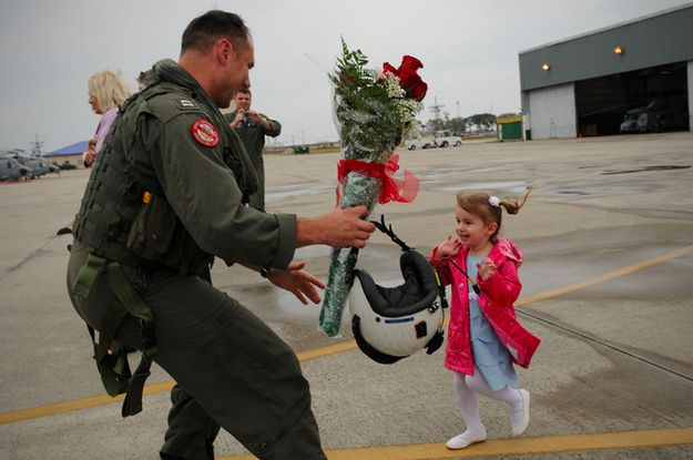 Military Returning Home