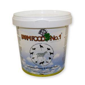 Farmfood No. 1 Puppymelk 500 gr  Description: Farmfood No. 1 puppymelk op geitenmelk basis De complete melkvoeding die vanaf de geboorte tot aan het spenen kan worden gegeven. De melk is gemaakt van volle geitenmelkpoeder en kan als toevoeging op de moedermelk of als vervanging gegeven worden. De samenstelling van geitenmelk is namelijk beter dan die van koeienmelk en is vergelijkbaar met moedermelk. De Farmfood puppymelk is ook geschikt voor kittens en andere kleine zoogdieren zoals…