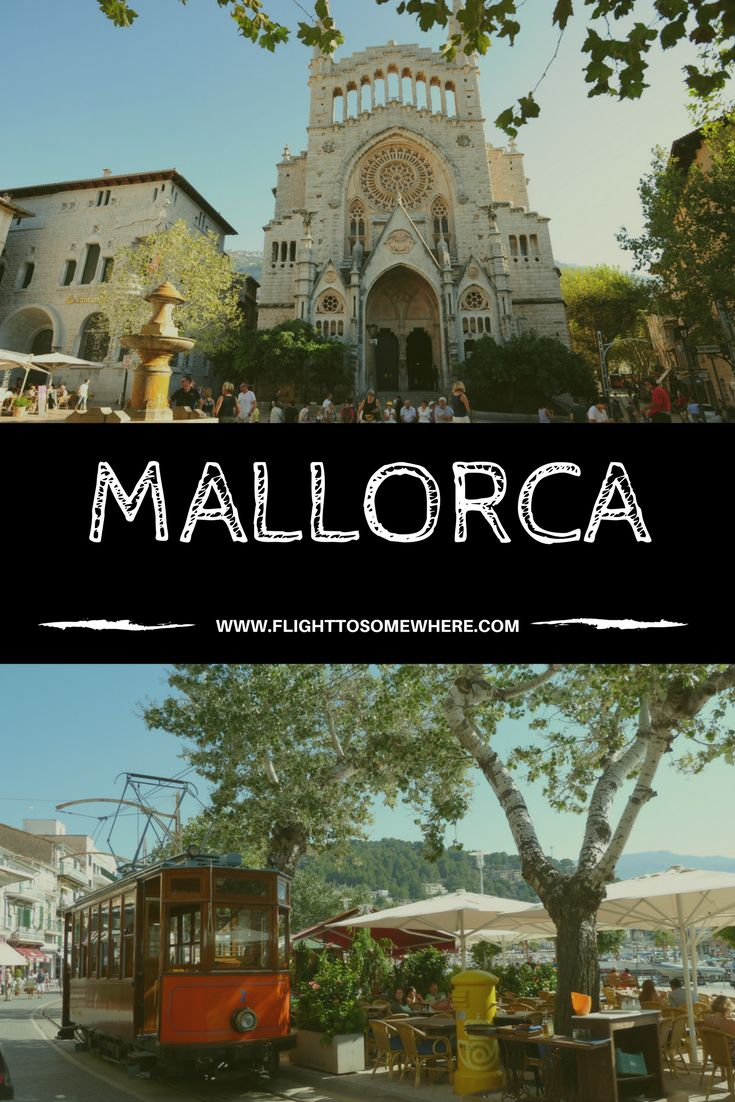 Mallorca has a bit of a reputation for partying, but there's so much more to it like the beautiful capital Palma de Mallorca and Soller and Puerto Soller